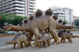 RÉPLICA DE FAMILIA DE DINOSAURIOS | Figuras de dinosaurios