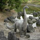 RÉPLICA DE BRONTOSAURUS | Figuras de dinosaurios