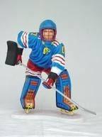Réplica de jugador de hockey sobre hielo | Figuras de jugadores de hockey