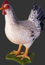 FIGURA DE GALLINA BLANCA | réplicas de gallinas - decoración temática