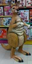 Réplica de canguro | figuras de canguros