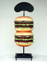RÉPLICA DE HAMBURGUESAS CON PIZARRA | Réplicas de hamburguesas