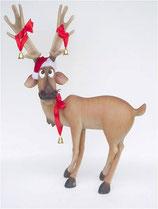 Figura de reno levantándose - Figuras de renos