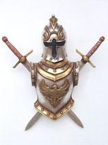 Réplica de trofeo medieval armadura | réplicas de escudos de armas