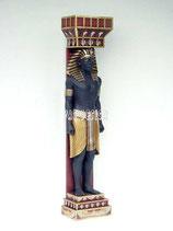 RÉPLICA DE COLUMNA EGIPCIA CON UN HOMBRE | Decoración egipcia