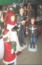 Réplica de coro navideño para una increíble decoración de navidad