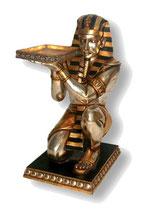 FIGURA DE EGIPCIO CON UNA BANDEJA DE CAMARERO | Figuras de Egipto