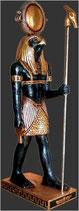 RÉPLICA DEL DIOS EGIPCIO HORUS | Réplicas de dioses egipcios