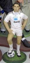 Réplica de jugador de futbol real madrid | figuras de futbolistas