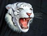 CABEZA DE TIGRE BLANCO | Figuras de tigres