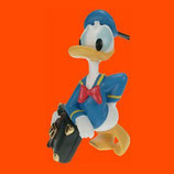 RÉPLICA DEL PATO DONALD CON MALETA GRANDE | Figuras del pato Donald