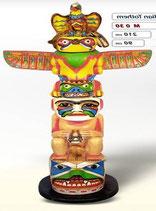 RÉPLICA DE TOTEM INDIO DE MUCHO COLORIDO | Réplicas de totems
