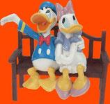 RÉPLICA DE DONALD Y DAISY ENAMORADOS | Réplicas Disney