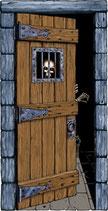 Decoración de terror para lograr decorar halloween con la máxima calidad. Puerta de terror
