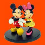 RÉPLICA DE MICKEY Y MINNIE ANDANDO JUNTOS | Figuras de Minnie Mouse