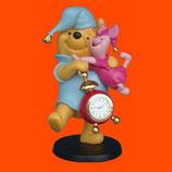 Figuras de Winnie y Piglet con reloj | Figuras de Winnie the Pooh