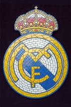 Mosaico del escudo del Real Madrid   Mosaico del Real Madrid