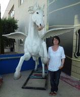 CABALLO PEGASUS CON ALAS | Réplicas de caballos - decoración temática