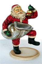 Réplica de Papa noel con su saco | Decoración de Navidad