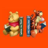FIGURAS DE WINNIE Y TIGGER SUJETALIBROS | Figuras de Winnie the Pooh