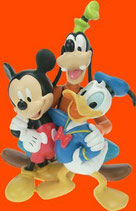 FIGURAS DE MICKEY,DONALD Y GOOFY | Figuras Disney