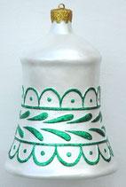 Réplica de campana navideña para una decoración de navidad
