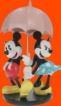FIGURA DE MICKEY Y MINNIE BAJO LA LLUVIA | Figuras de San Valentín