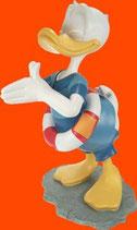 Figura de pato Donald en bañador con flotador | Figuras Disney