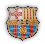 Mosaico del F.C. Barcelona | Mosaico del escudo del Barça