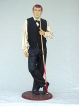 Réplica de jugador de billar | Figuras de jugadores de billar