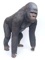 FIGURA DE GRAN GORILA NEGRO | réplicas de gorilas