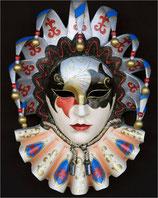 RÉPLICA DE MASCARA VENECIANA DE MULTICOLORES | Réplicas de máscaras venecianas