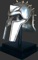 Réplica de casco de gladiador romano | réplicas de cascos de gladiadores