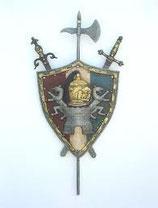 RÉPLICA DE ESCUDO DE ARMAS HISPANO | réplicas de escudos de armas