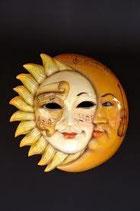 RÉPLICAS DE MASCARA DE SOL Y LUNA | Máscaras venecianas