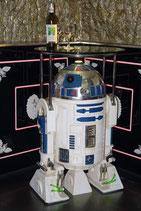RÉPLICA DE ROBOT CON MESA DE CRISTAL | Figuras de robots