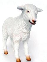 Figura de corderito blanco | réplicas de corderos - decoración temática