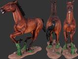 Réplica de caballo de carrera para decorar hipódromos