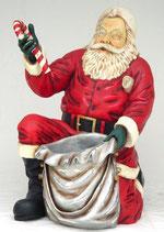 RÉPLICA DE SANTA CLAUS ARRODILLADO | Figuras de Santa Claus