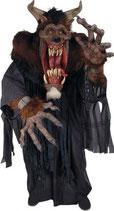 Decoración de terror para lograr decorar halloween con la máxima calidad posible. Réplicas de demonios.
