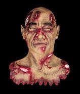 Decoración de terror con las mejores réplicas para decorar Halloween. Réplica de cabeza cortada.