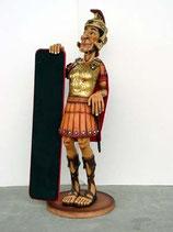 RÉPLICA DE SOLDADO ROMANO CON MENU | Figuras de soldados romanos