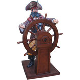 RÉPLICA DE PIRATA TIMONERO | Réplicas de piratas