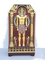 Réplica de armario egipcio con figuras relieve | Decoración egipcia