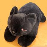 ぬいぐるみ?みたいな黒猫のクッション