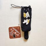 黒猫の印鑑・リップケース