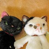 スクラッチ!ちょっと強面の引っ掻き猫のマスコット