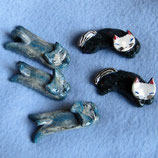 手作り!猫の箸置き2種