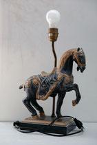 Tischlampe mit Pferd
