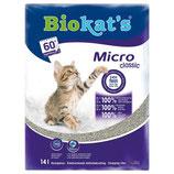 Biokat's Micro Fresh Katzenstreu, 14 l